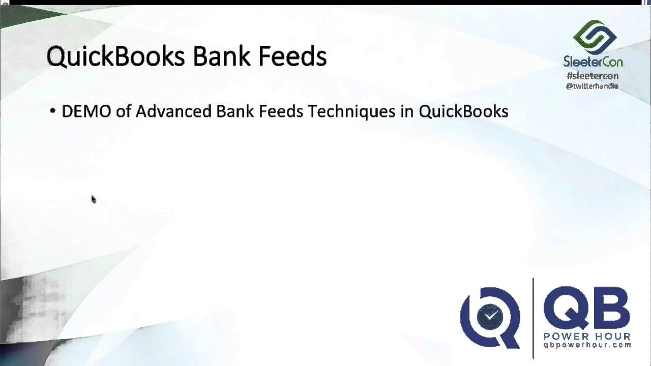 QuickBooks Online 2016 Tutorial: Download Bank Transactions into QuickBooks