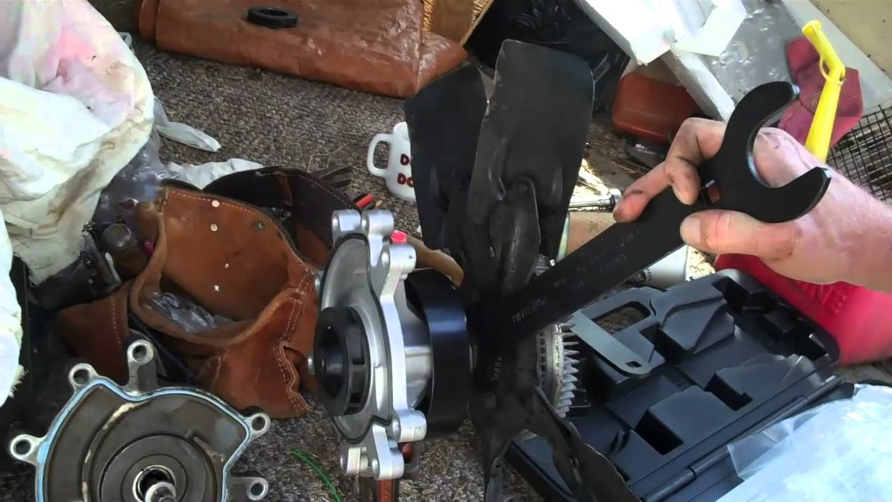 How to change a Dodge Durango Water Pump Not rocket science – Dodge 318 Engine Diagram Water Pump