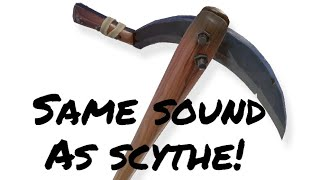 Batsickle Pickaxe Is The Scythe In 2018! Sound Effects Are The Exact Same! (Fortnite Battle Royale)
