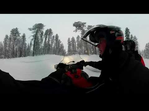 LEVI Lapland Snowmobiling V360
