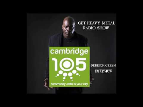 Derrick Green from Sepultura - Interview 2017, Get Heavy Metal Radio Show, Cambridge 105 FM