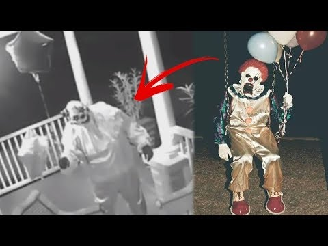 Топ 15 Клоунов Убийц Снятых На Видео