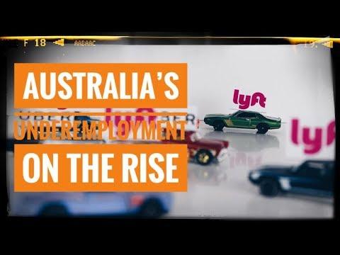 Australia's Underemployment Rate Rises