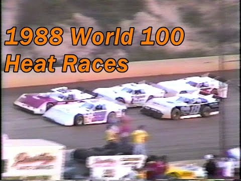 1988 World 100 at Eldora Speedway (Heats & Consy)