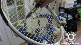 Racquet Stringing Prince Warrior 97 MP