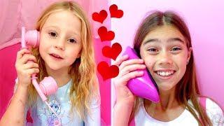 Nastya und eine moralische Geschichte über die Freundschaft mit Stacy