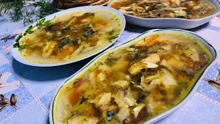Заливное из Скумбрии/Рыбные Блюда/Рецепт