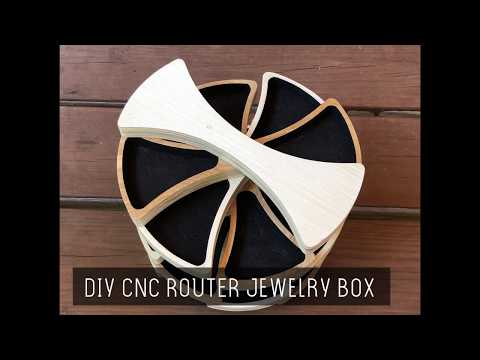 DIY CNC Router Jewelry Box