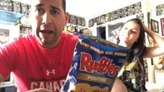 Happy Canada Day Ruffles Poutine Chips Review
