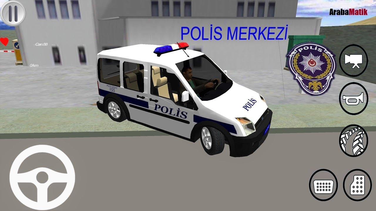 Polis Oyunu Ford Connect Turk Polis Arabasi Oyunu Polis