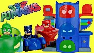 Nat and Essie open PJ Masks Headqua...