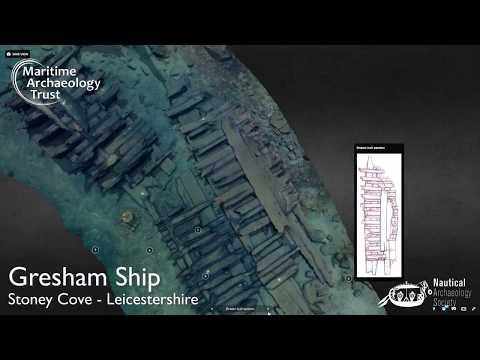 3D Gresham ship - Stoney Cove