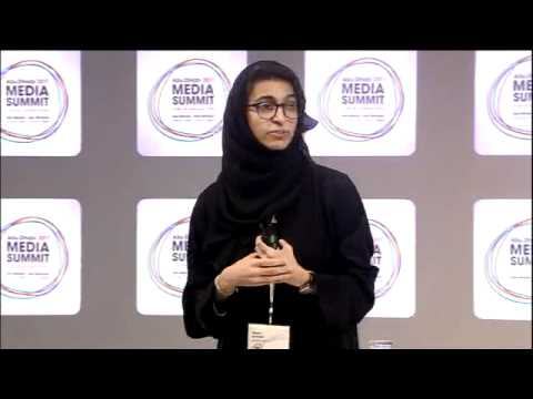 'Arabian Tales: Our People And Their Stories' Noura Al Kaabi, twofour54, Abu Dhabi Media Summit 2011
