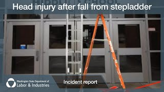 Head Injury After Fall from Stepladder