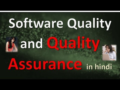 Software Quality and Quality Assurance in HINDI