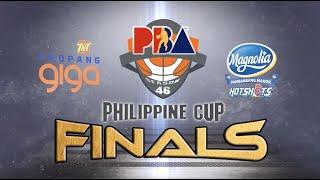 Magnolia vs Talk N Text | PBA Philippine Cup 2021 Finals Game 1