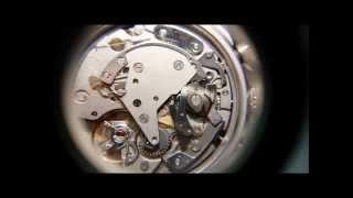 Orologi Cronografi Meccanici Carica Manuale, Fasi di Start Stop Reset