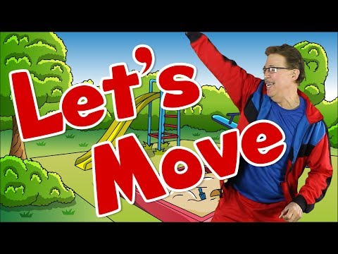 Let's Move | Brain Breaks & Dance Song for Kids | Exercise & Fitness for Children | Jack Hartmann