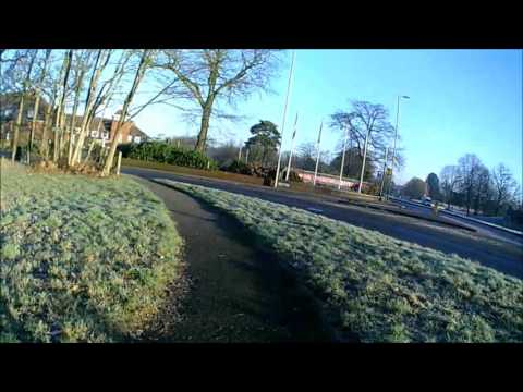 Bike Ride 21/01/2017 Aldershot To Church Crookham & Return