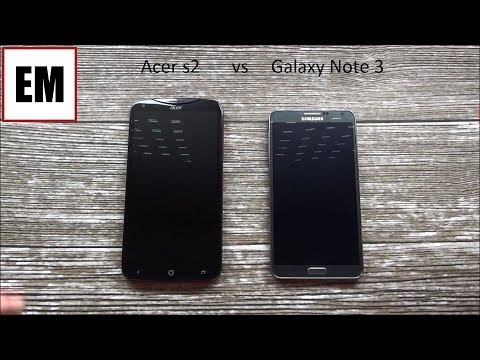 Acer Liquid S2 vs Samsung Galaxy Note 3 ita da EsperienzaMobile