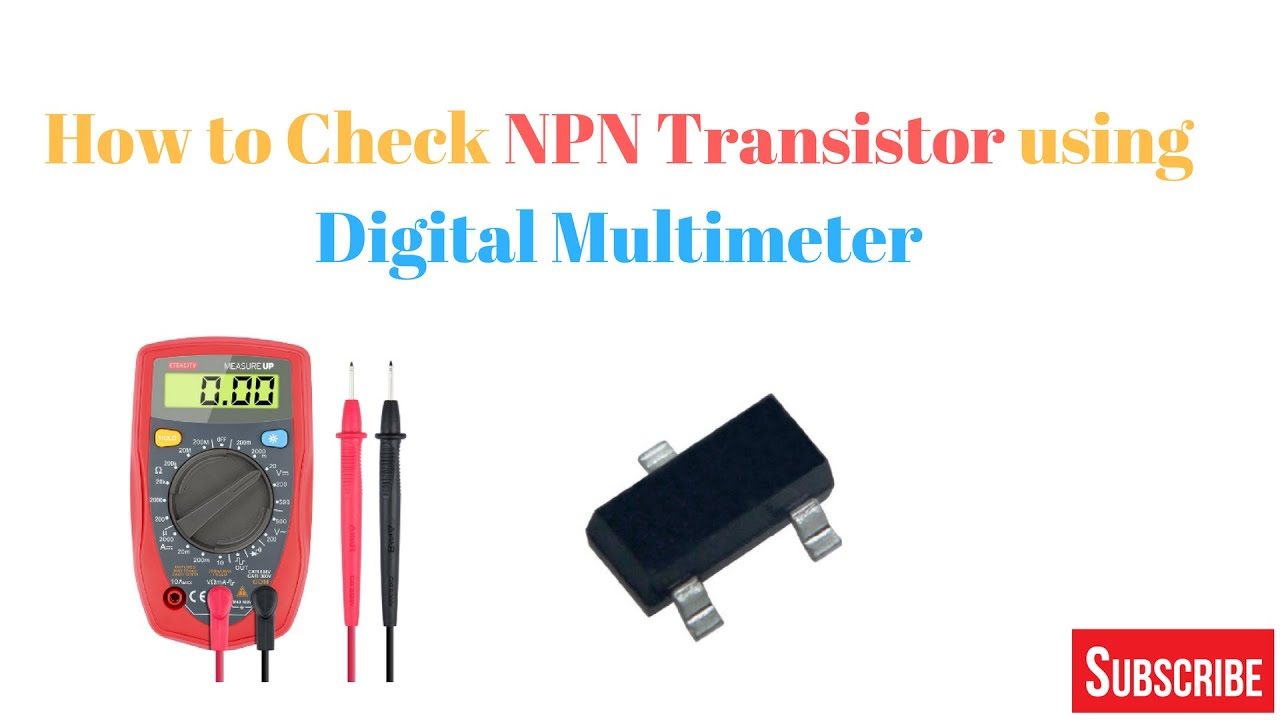 Transistor Ko Digital Multimeter Se Check Kaise Kre Youtube Quality Checker With Buzzer