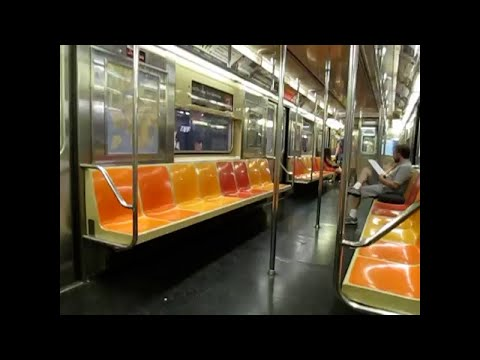 IRT Broadway/7th Avenue line: On board R62 (3) Express train from Chambers St to 96 Street