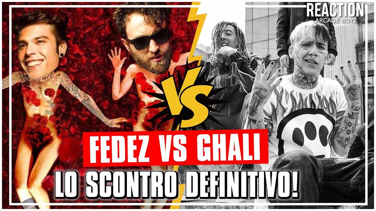 FEDEZ E DARGEN vs GHALI e TAXI B | REACTION by Arcade Boyz