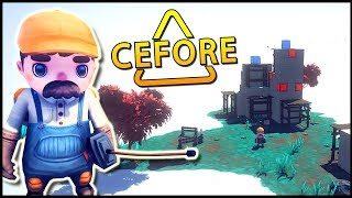 Cefore - I LOVE THIS GAME! Physics Based Puzzler With Besiege Look - Cefore Gameplay