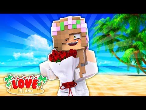 LITTLE KELLY GETS MARRIED ?? Minecraft LOVE ISLAND