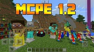 пОДРОБНЫЙ ОБЗОР Minecraft PE 1.2 РЕЛИЗ !!!