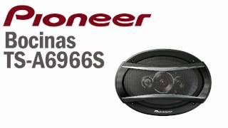 Pioneer Guatemala Bocinas TS A6966S