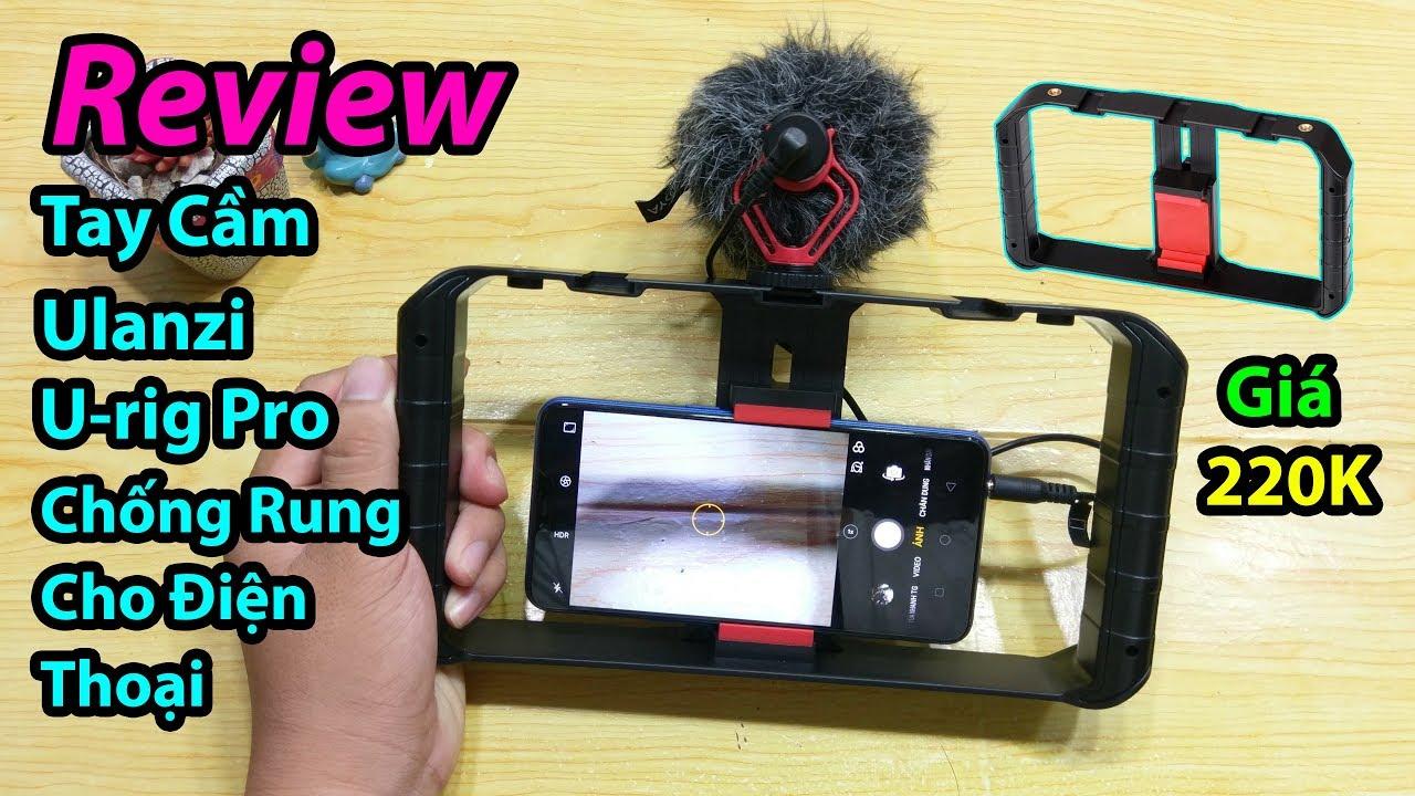 Mở hộp tay cầm Ulanzi U-rig Pro chống rung cho điện thoại
