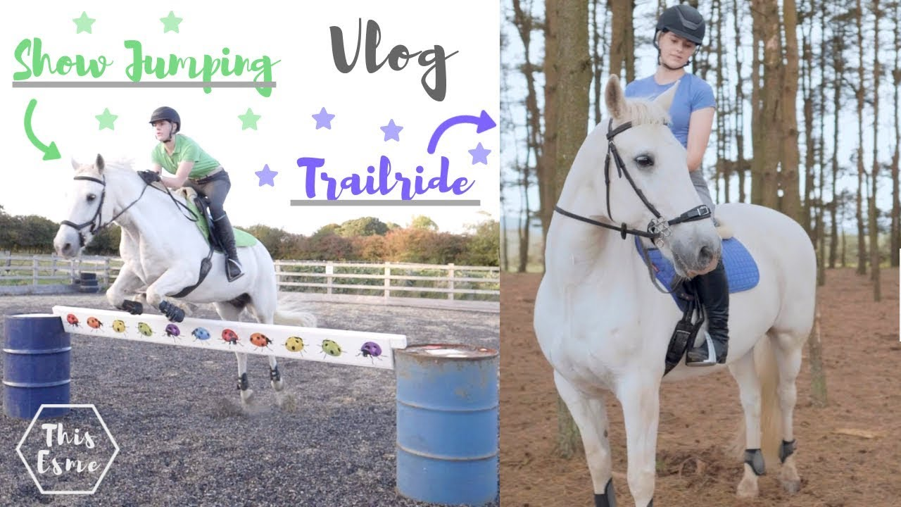 vlog-showjumping-and-woodland-trail-ride-this-esme