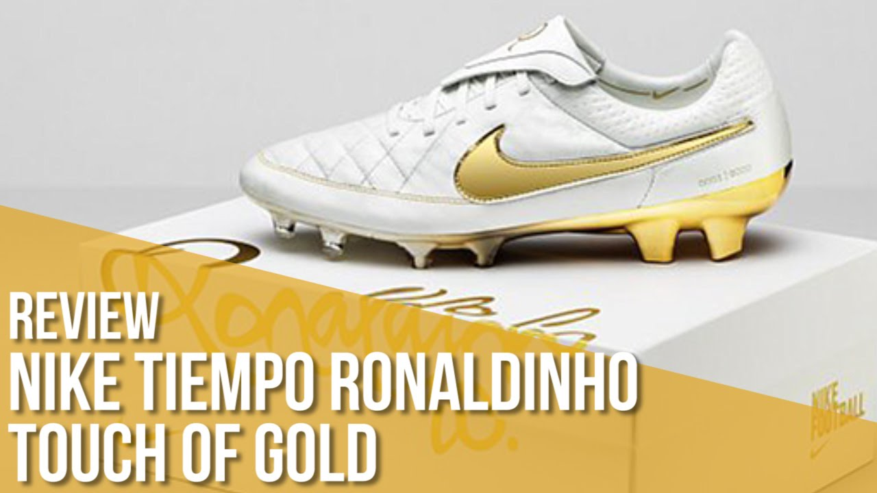 509358b41c Review Nike Tiempo Legend Ronaldinho Touch of Gold Edición Limitada. Fútbol  Emotion