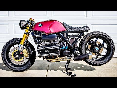 😵 Мотоцикл BMW K100 - Кастом 👏!