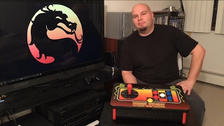 My Mortal Kombat Klassic Arcade Fight Stick