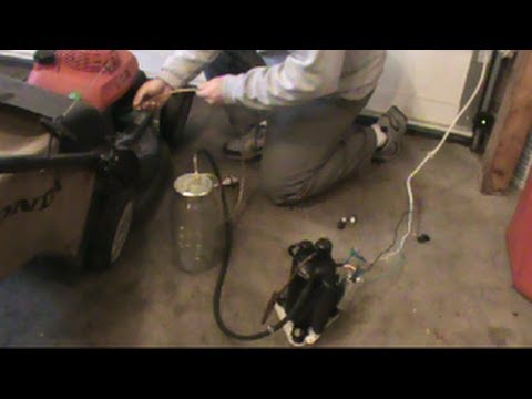 Homemade Tools Oil Extractor For Car Or Lawnmower