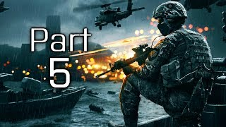 Battlefield 4 Gameplay Walkthrough Part 5 - Campaign Mission 3 - Valkyrie (BF4)