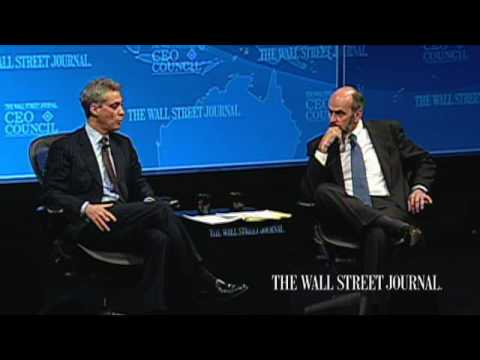 Rahm Emanuel on the Opportunities of Crisis