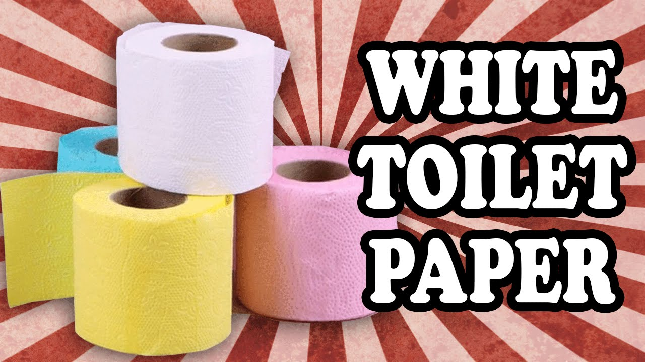 Why Toilet Paper Is White