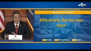 WATCH: New York Gov. Cuomo holds news conference on coronavirus response - 4/6 (FULL LIVE STREAM)