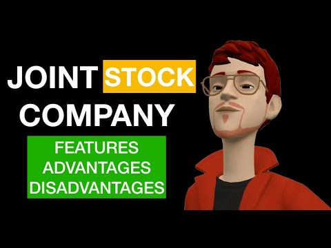 advantages of joint stock company