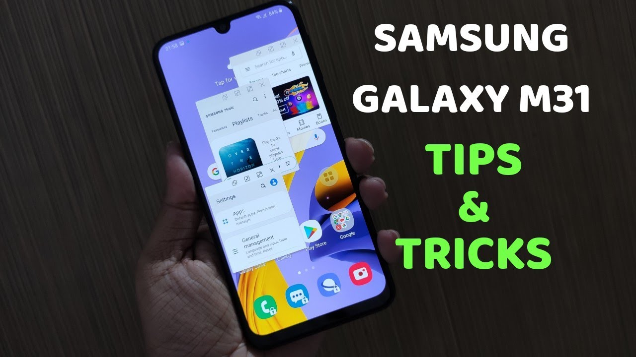 SAMSUNG GALAXY M31 : 20+ TIPS & TRICKS