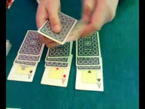 Truco de magia : Los ases Mc Donald; magic card trick : the Mc Donald aces.N/REVELADO Videos De Viajes