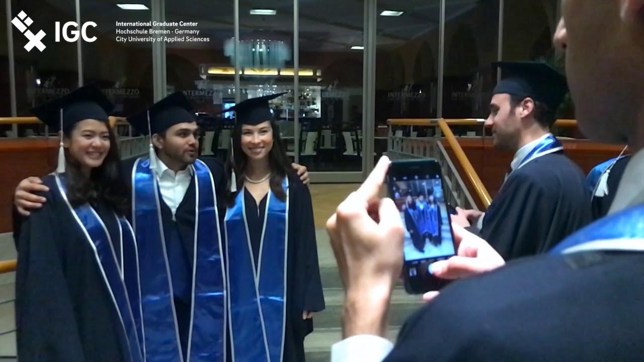 igc graduation 2017 official aftermovie international graduate center hochschule bremen - Hochschule Bremen Bewerbung
