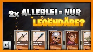LEGENDARY ONLY! NEW ALL LAMAS! 🌟 Fortnite Save the World Lama Pack Opening German