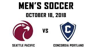 10.18.2018 - Men's Soccer: SPU vs. Concordia Portland