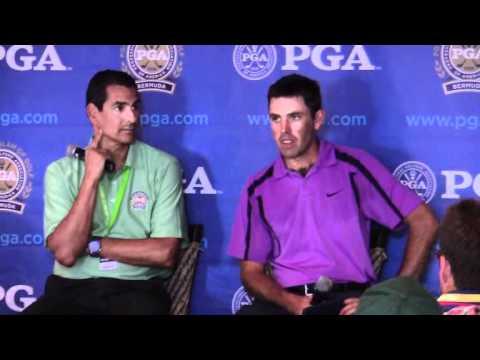 Charl Schwartzel PGA Grand Slam Bermuda October 18 2011