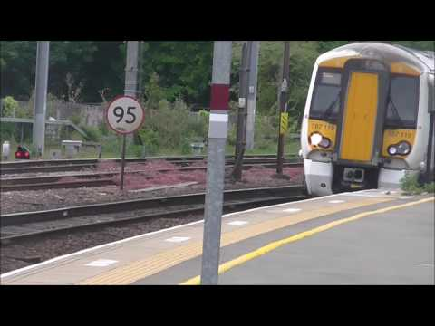 Trains at West Hampstead Thameslink - 20/05/16