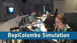 BepiColombo Simulation